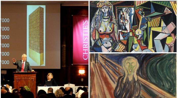 La obra de arte más cara... 143 millones de euros