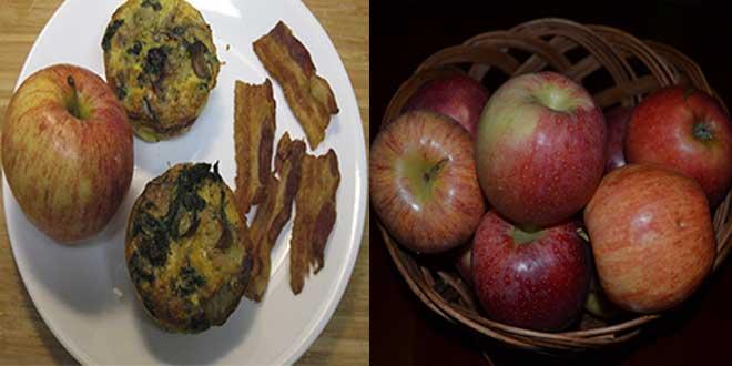 Desayuna manzanas