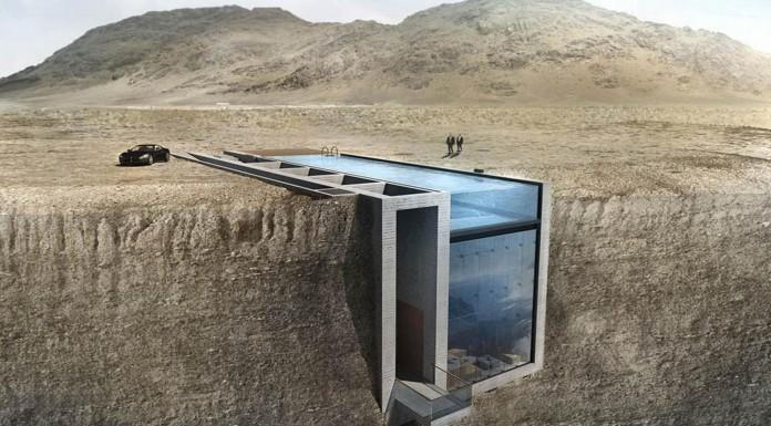 """""""Casa Brutale"""", tu hogar en un acantilado... ¡Las vistas son increíbles!"""