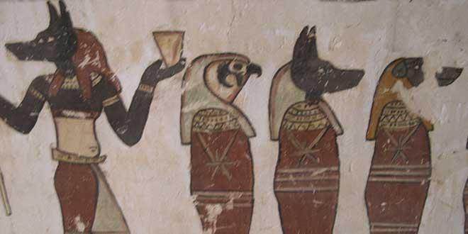 dioses momificación