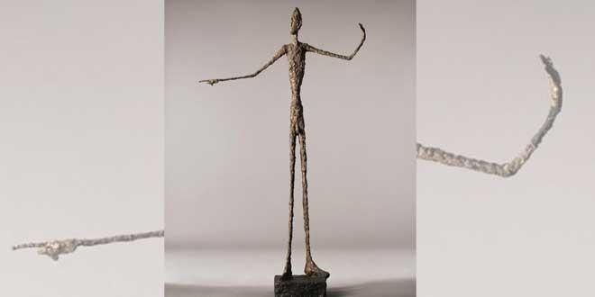 El hombre que señala (Giacometti, 1947 )