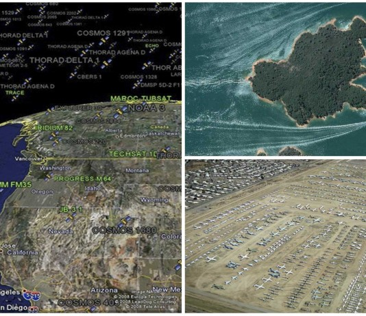 5 descubrimientos sorprendentes de Google Earth