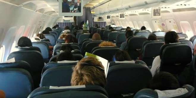 pasajeros avión