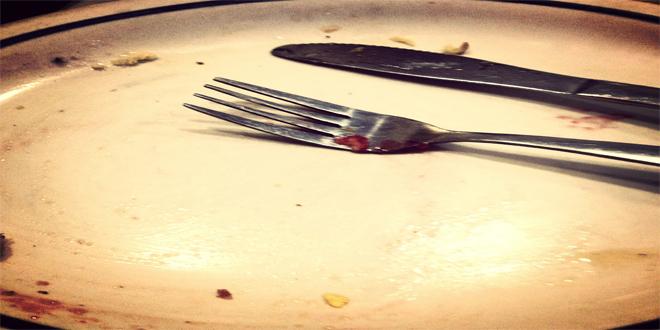plato vacío