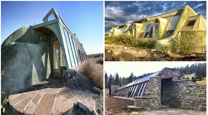 Las supercuriosas casas earthships: autosuficiencia total