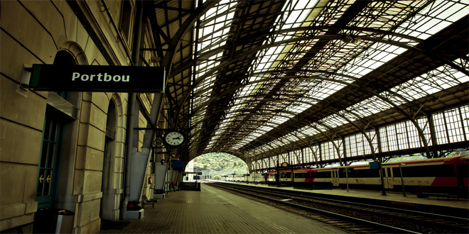 La estación de Portbou