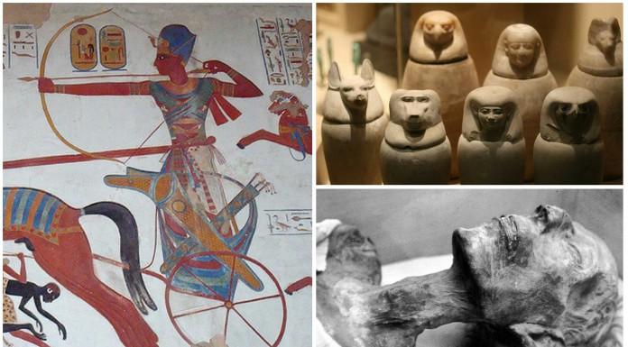 Ramsés II y el misterio de los vasos canopos