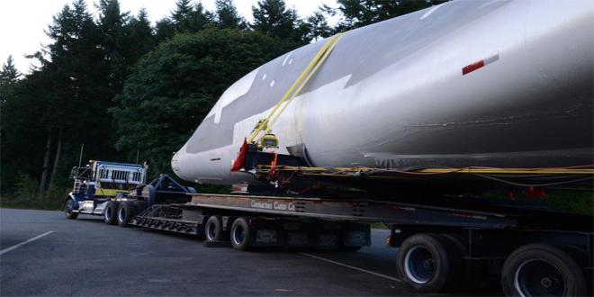 Transportando un bombardero