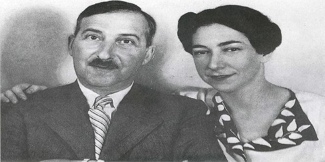 Stefan Zweig y su esposa Charlotte