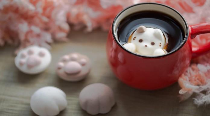 """Los """"CafeCat"""" marshmallows, una delicia para tu café"""