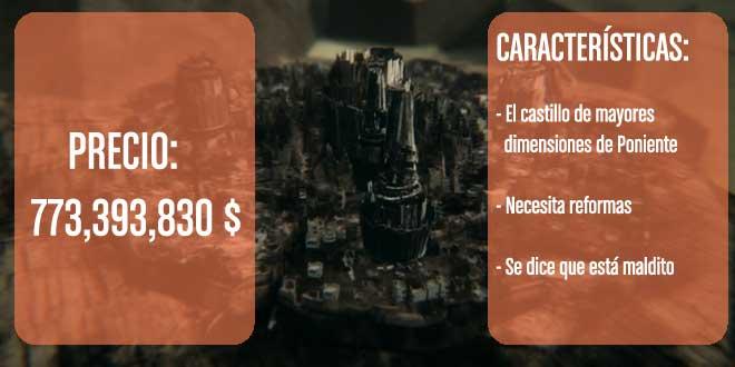 CASTILLO HARRENHAL caracteristicas