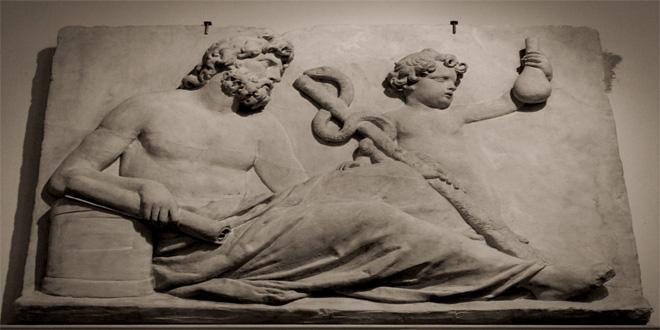 Asclepio, el dios griego de la medicina
