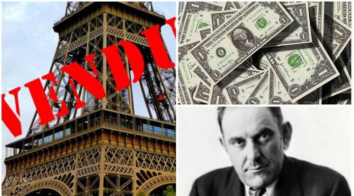 El hombre que vendió la torre Eiffel... ¡2 veces!