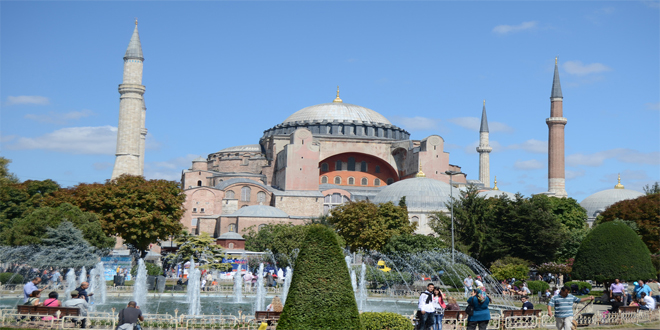 """""""Hagia Sofía"""", Museo, en Estambul, Turquía"""