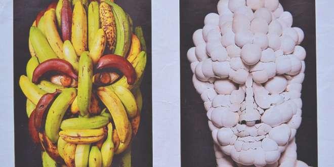 Head of a man head of a man II
