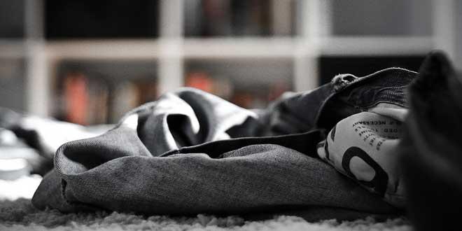 ropa suelo