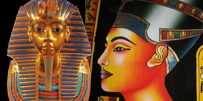 tutankamon nefertiti
