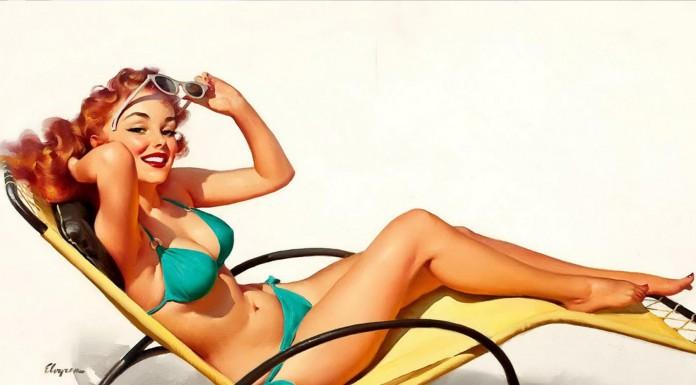 La historia de las chicas Pin-Up