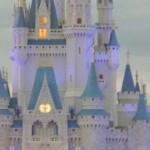 El castillo de la Cenicienta en Walt Disney World Resort, Florida.