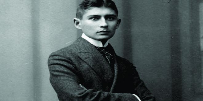 Imagen del joven escritor Kafka