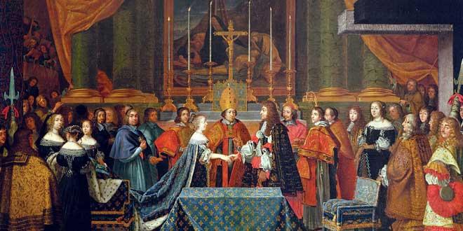 Boda de Luis XIV, 1660