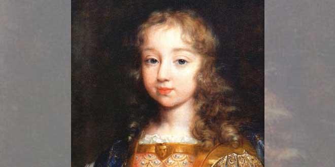 Luis XIV niño
