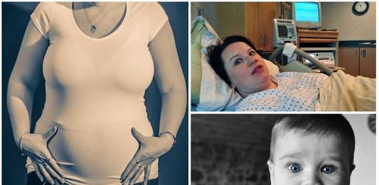 Casos de mujeres que dieron a luz sin saber que estaban embarazadas