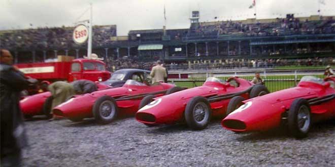 Maserati 250Fs en 1957
