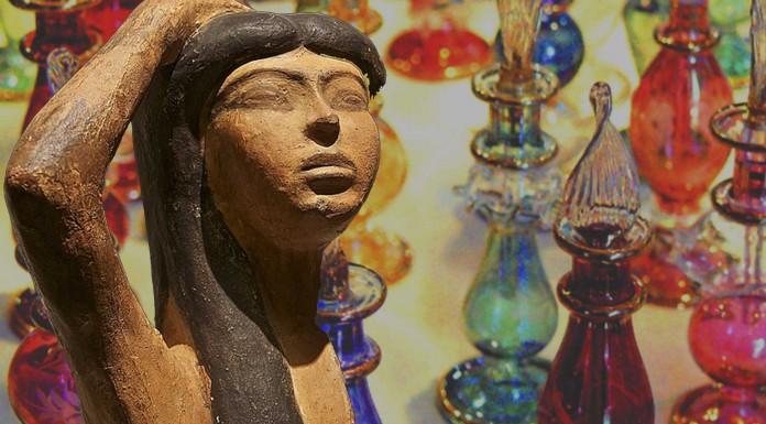 La pasión de los egipcios por el perfume