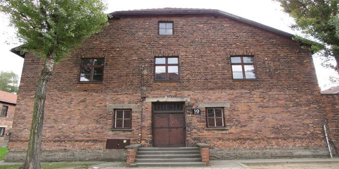 El famoso Bloque 10, en Auschwitz, donde Mengele realizaba sus infames experimentos