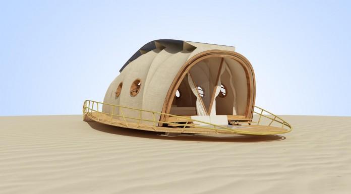 La casa inspirada en las orugas que te hará soñar