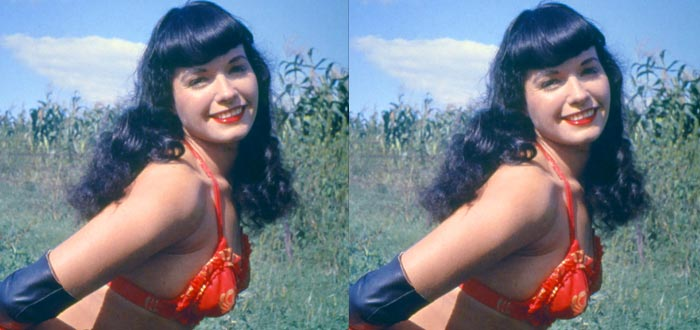 chicas pin-up, Bettie Page