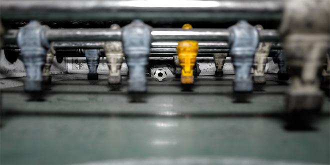 el futbolín