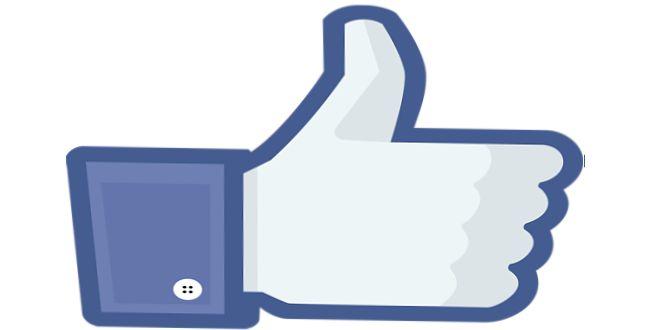 """Símbolo del """"like"""" en Facebook"""