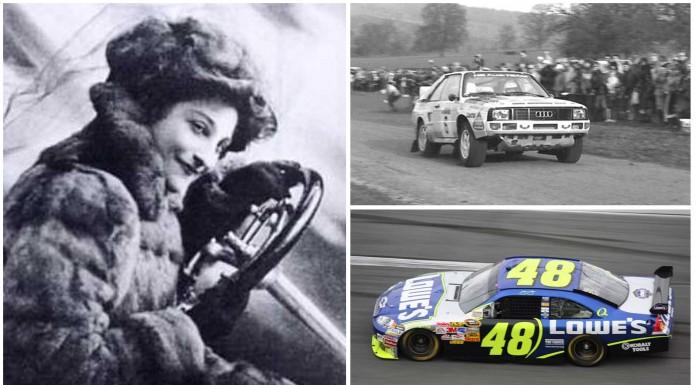 10 mujeres que han hecho historia en el mundo del automóvil