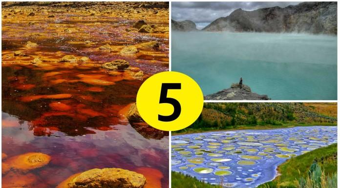 5 paisajes extraterrestres en tu propio planeta