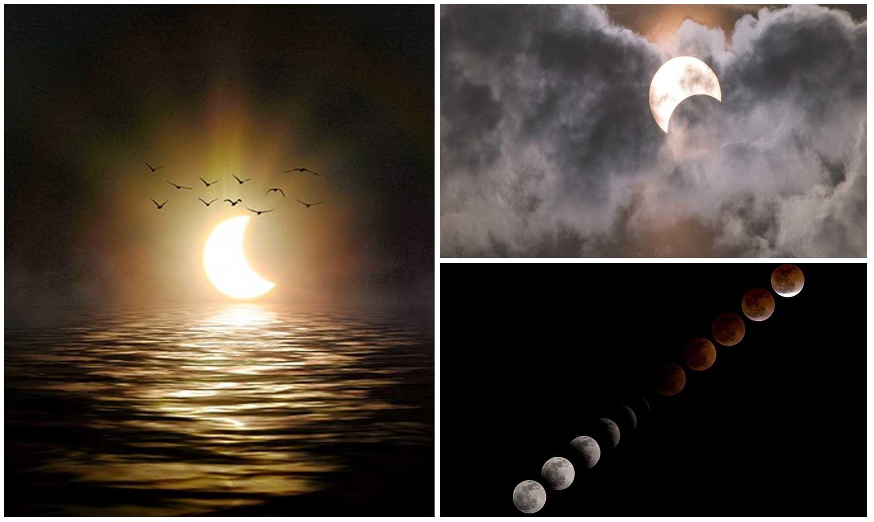 Sorpréndete con estas curiosidades sobre los eclipses