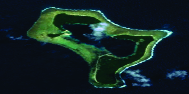 La isla de los daltónicos desde Google Maps