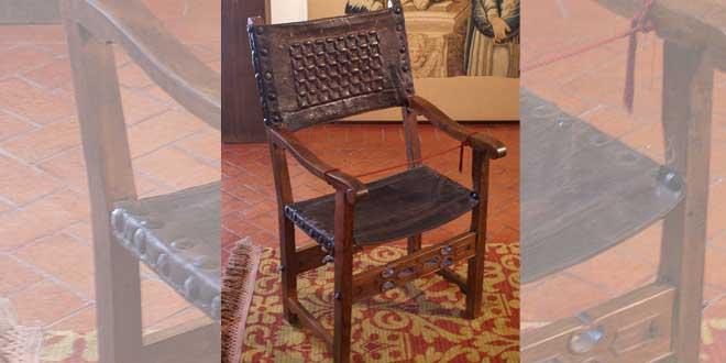 El sillón del Diablo en Valladolid.