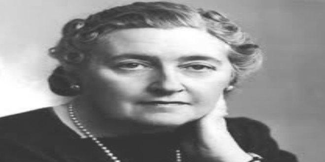 Escritora Agatha Christie