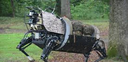 Robots de cuatro patas: el LS3
