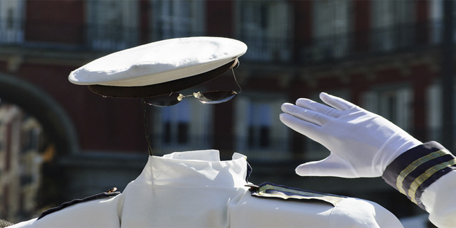 saludo militar