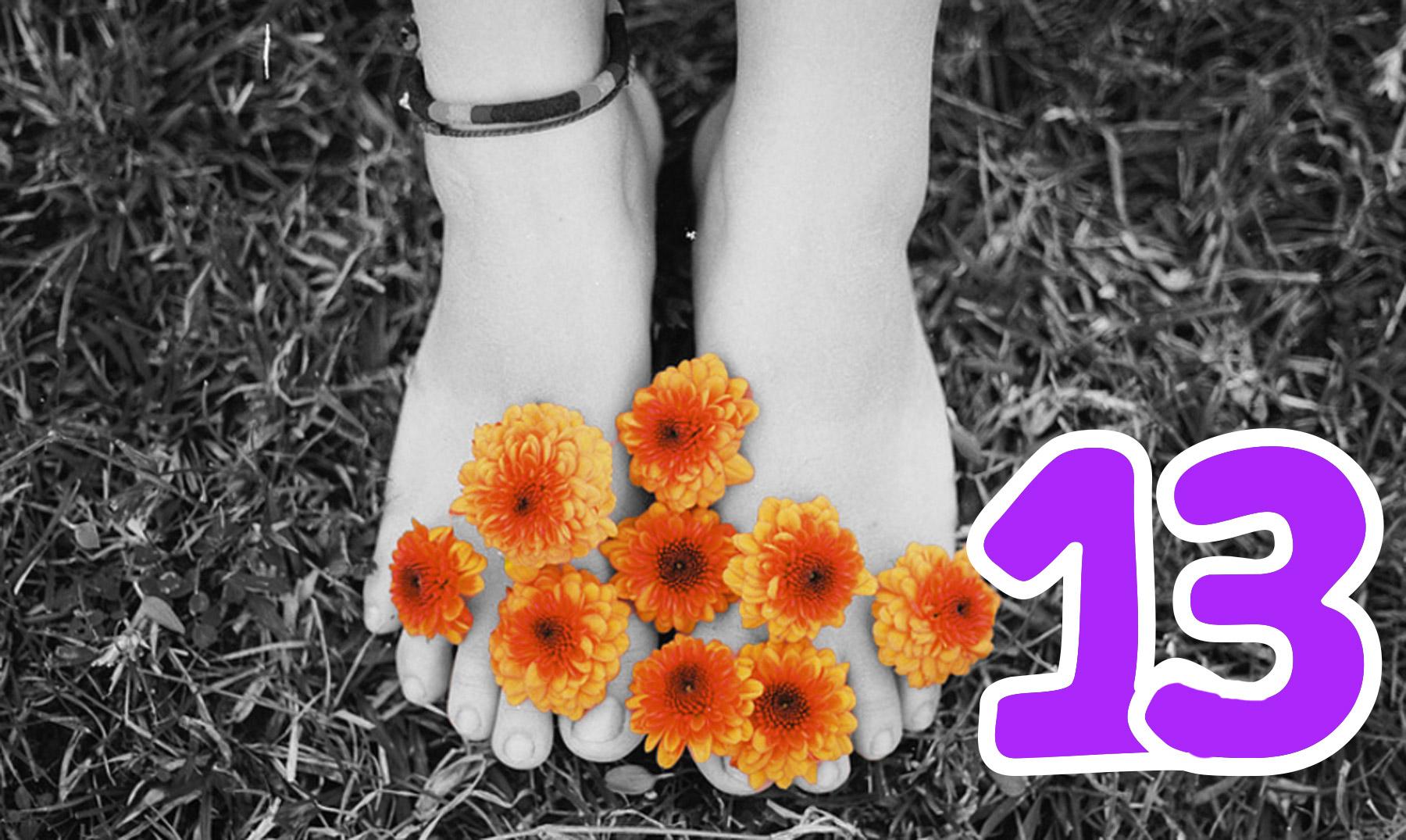 13 datos curiosos sobre los pies