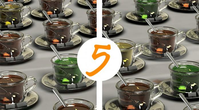 ¡5 bebidas con las que puedes sustituir el café!