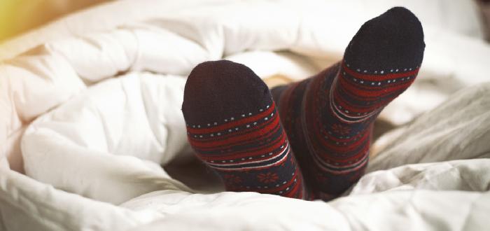 Dormir siempre con calcetines