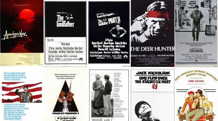 Mejores películas por año en los 70' (Tiempos de matar)