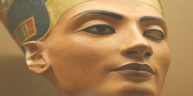 Busto de al reina Nefertiti