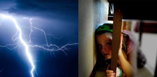 Si estás bajo una tormenta eléctrica, ¿dónde te escondes?