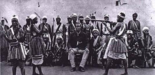 El ejército de mujeres del antiguo reino de Dahomey