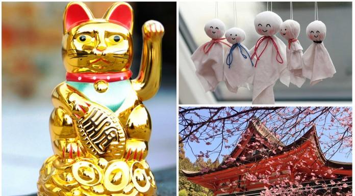 5 Objetos de la suerte en Japón